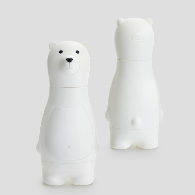 熊熊正反面_白