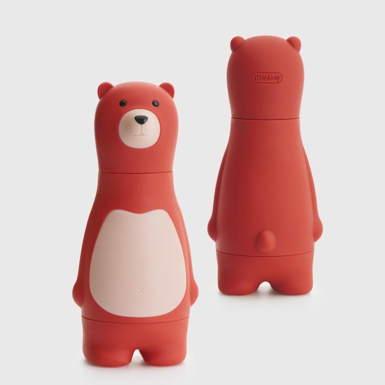 熊熊正反面_紅